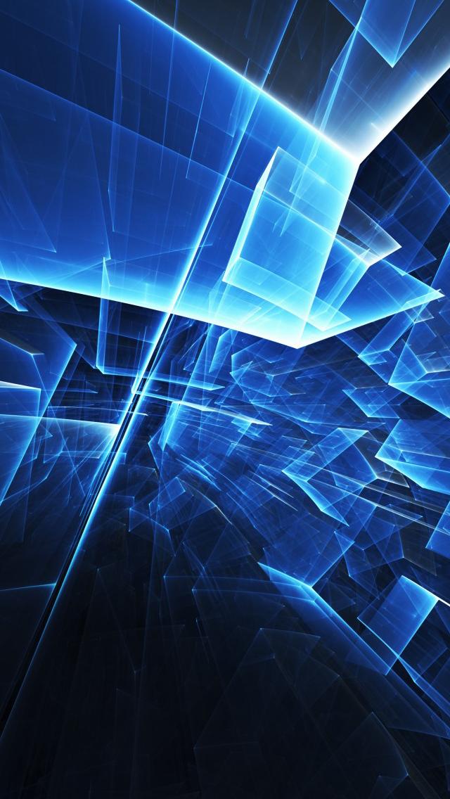 カッコいい青のiphone壁紙